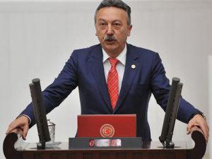 CHP Milletvekili Bayır, Çeşmedeki Taş Ocaklarını Meclise Taşıdı