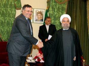 Ruhani, Total ve Airbus CEOlarını Kabul Etti