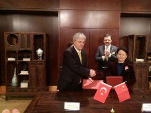 Ebso, Çinle E-İpek Yolu Anlaşması İmzaladı
