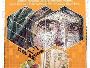 Anadolunun Mozaikleri Eskişehirde Görücüye Çıkıyor