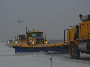 Washington Havaalanında Kar Yağsa da Uçuşların Yüzde 90ı Aksamıyor