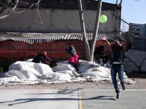 Galatasaray Formalı Mülteciler, IOC Başkanı Bach ile Futbol Oynadı
