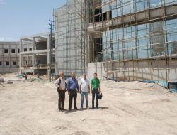 Patnos Yeni Devlet Hastanesi İnşaatı Hızla Sürüyor - Ağrı