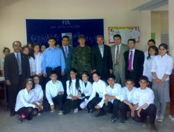 Hamur Osman Gazi İlköğretim Okulu'nda Rekolaj Resim Sergisi - Ağrı