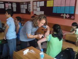 Kasımlı İlköğretim Okulu Öğrencileri Aşılandı - Zonguldak
