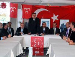 Ayvalık MHP Yeni Yönetimine Kavuştu - Balıkesir