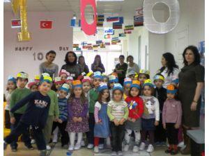 Küçük Şeyler Anaokulu' Nda 100. Gün Etkinliği