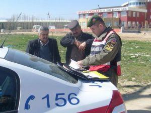Jandarma'dan Yol Denetimi