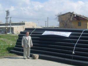 Küçük Sanayi Sitesi'nin Altyapısı Yenileniyor