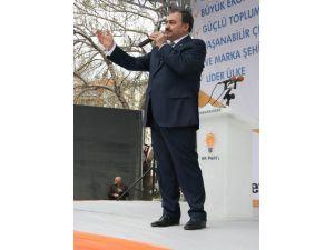 Bakan Eroğlu Bolvadin'de 3 Tesisin Temelini Attı
