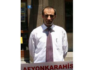 Alperenlerden Suriye Protestosu