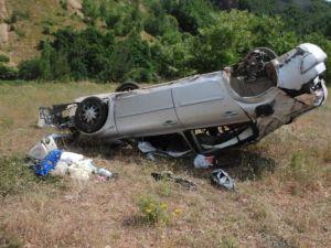 Suşehri'nde Trafik Kazası: 4 Yaralı