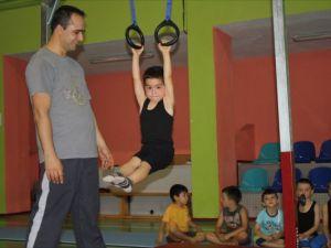 Necmi Uztürk Spor Salonu Jimnastik Merkezi Haline Getirildi