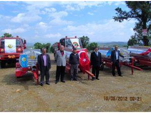 Gediz Orman İşletme Müdürlüğü 6 Köye Su Tankeri Dağıttı