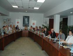 Alman Gazeteciler İzmir Ekonomi Üniversitesi'nı Gezdi