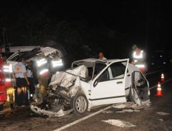 Ordu'da Trafik Kazası : 2 Ölü, 5 Yaralı