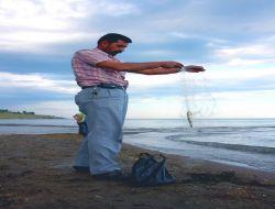 Van Gölü'nde Olta İle Balık Avı