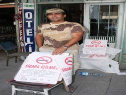 """""""Sigara İçmek Yasaktır"""" Yazılı Afişler Yok Satıyor"""