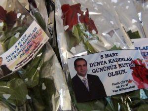 Erciş'te 8 Mart Dünya Kadınlar Günü Etkinliği