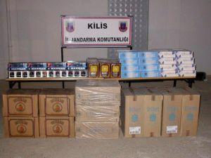 Jandarma ve Hudut Birlikleri Kaçakçılara Göz Açtırmıyor