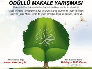 Çeküd Çevre ve İslam Konulu Makale Yarışması Açtı