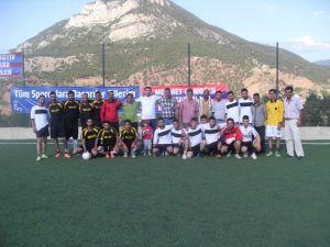 Cumayanı Köyünde Futbol Şöleni Devam Ediyor