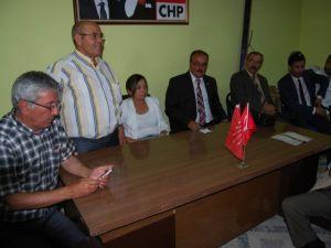 CHP Eşme Teşkilatında Bayramlaşma