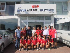 Tekkeköy Bayan Basketbol Takımı Sağlık Kontrolünden Geçti