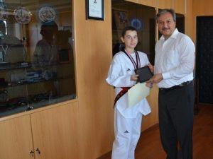Ermantaş, Taekwondoda Türkiye 2ncisi Oldu