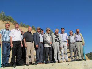 Milletvekili Aksoy Hasanlar Barajında İncelemelerde Bulundu