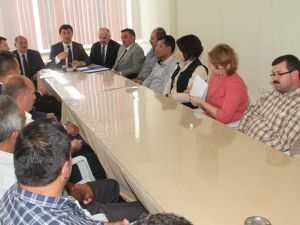 Ak Parti Pınarbaşı İlçe Danışma Toplantısı Yapıldı