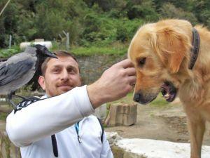 Köpek ile Karganın Kıskandıran Dostluğu