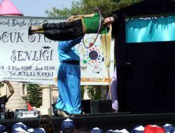 1. Çocuk Oyunları Şenliği Başladı - Gaziantep