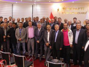 Develi İlçe Belediye Başkan Aday Adayları Bir Araya Geldi