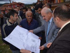 Genel Sekreter Mehmet Uzun Cumayanı Köyünde İncelemelerde Bulundu