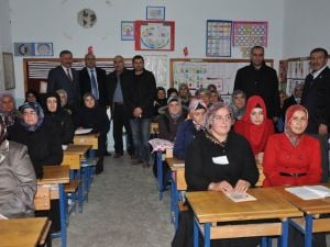 Sorgunda Kültür Mantarı Yetiştiriciliği Kursu Açıldı