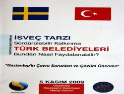 Gaziantep'in Çevre Sorunları ve Çözüm Önerileri Konferansı - Gaziantep