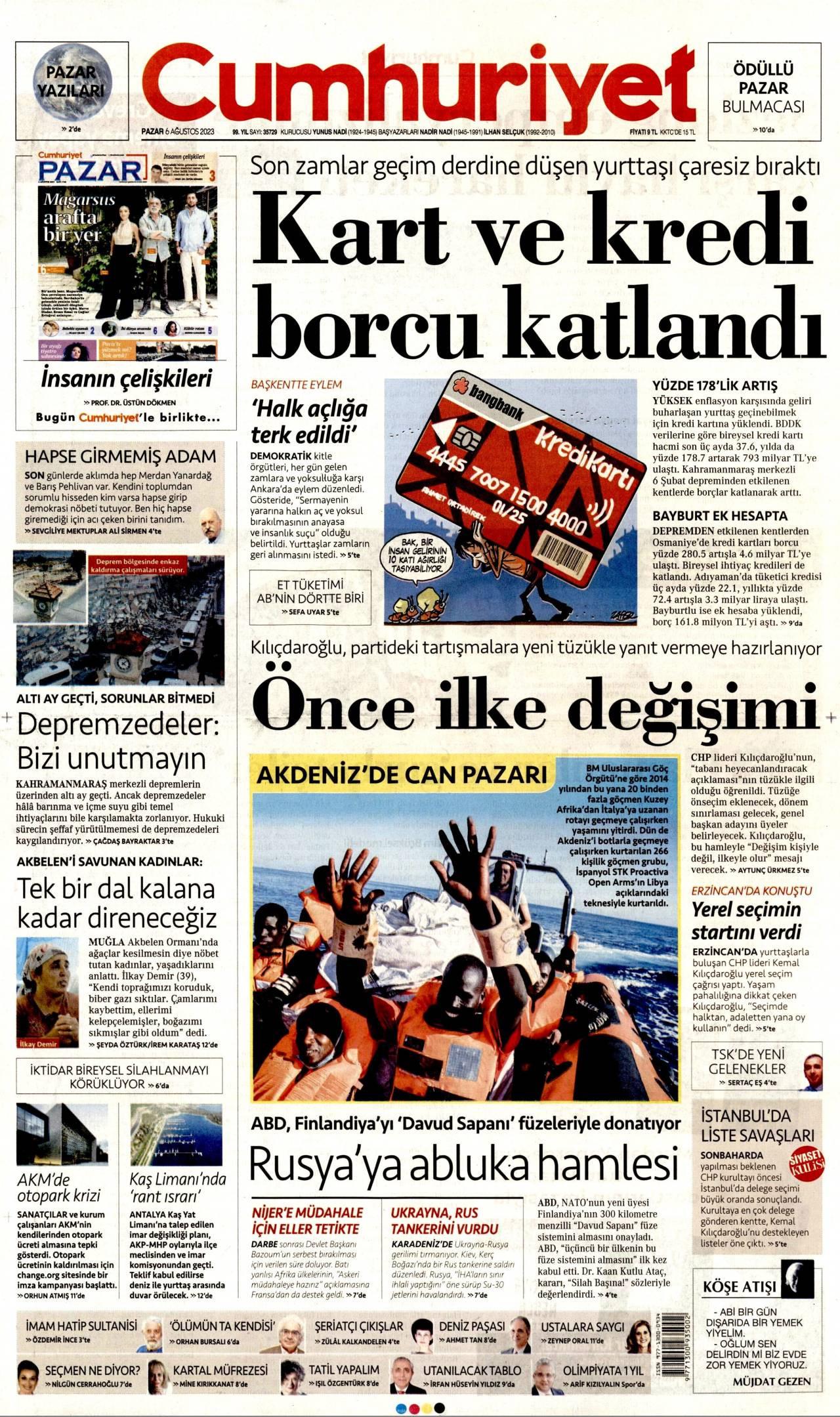 Cumhuriyet Gazetesi