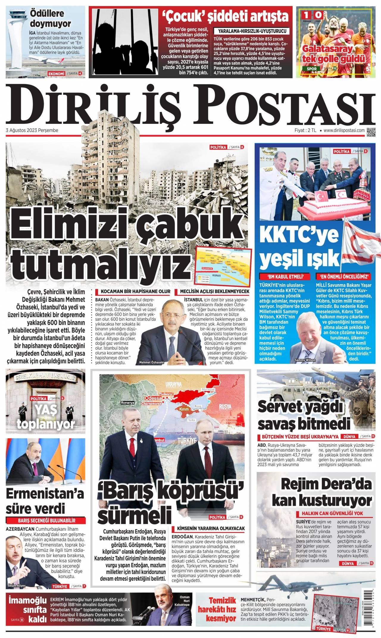 Dirliş Postası Gazetesi