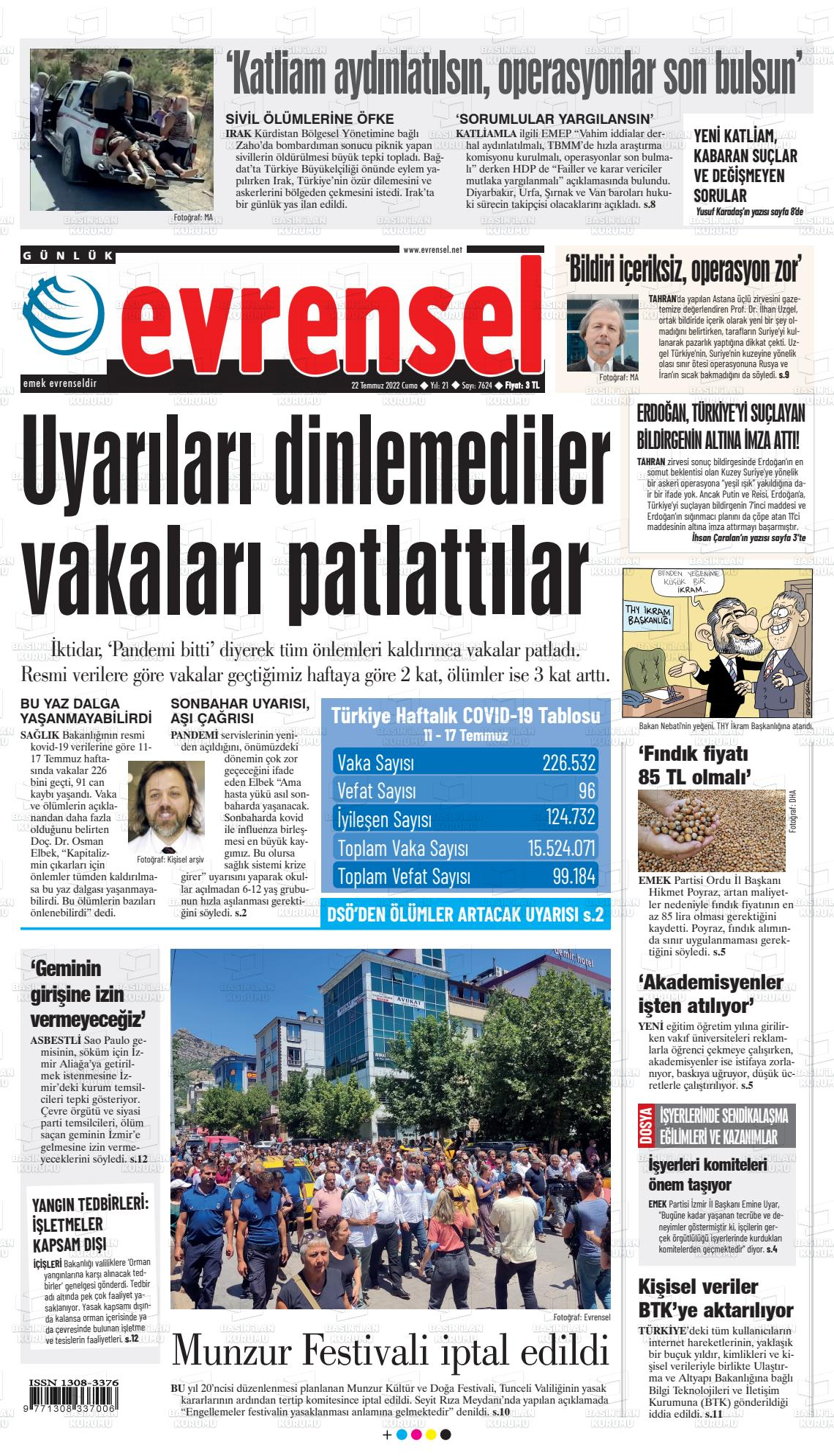 Evrensel Gazetesi