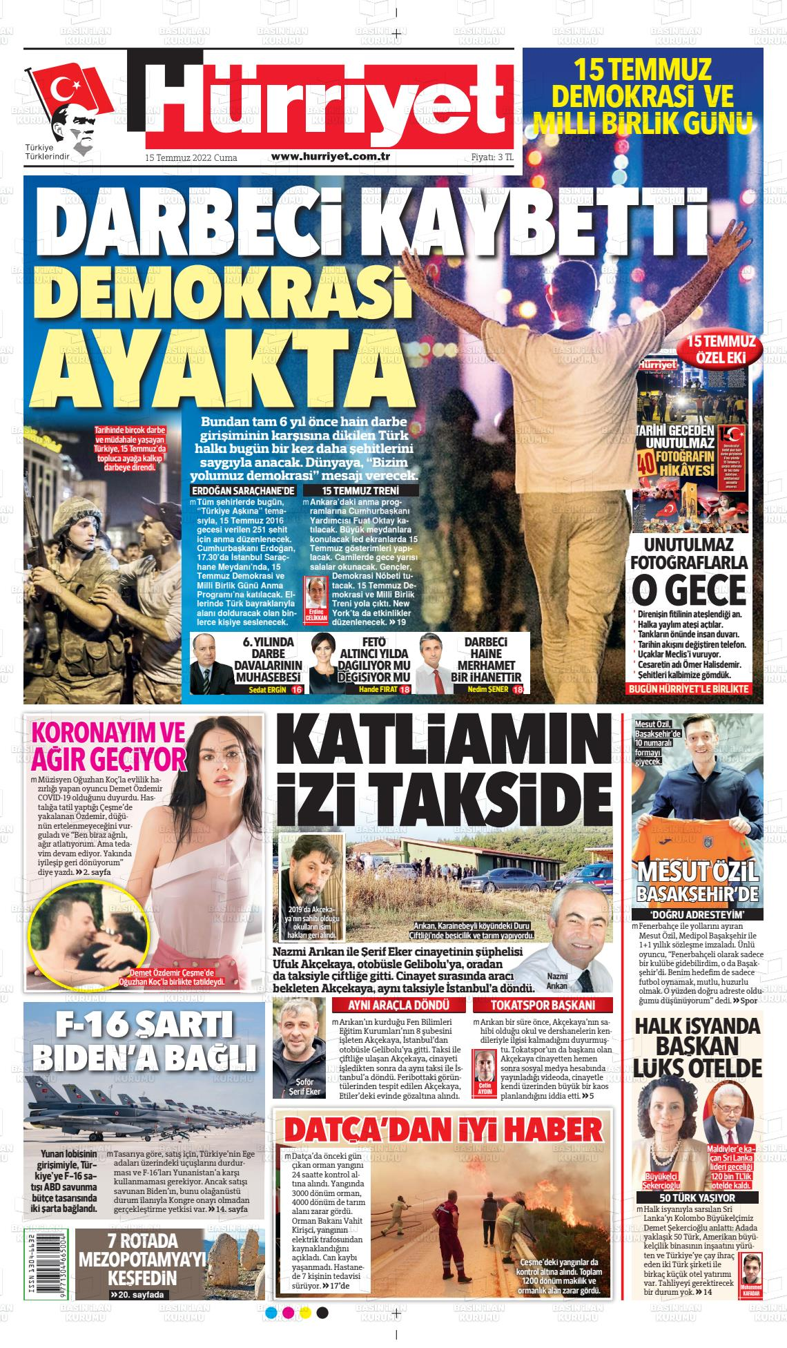 Hürriyet Gazetesi Gazetesi