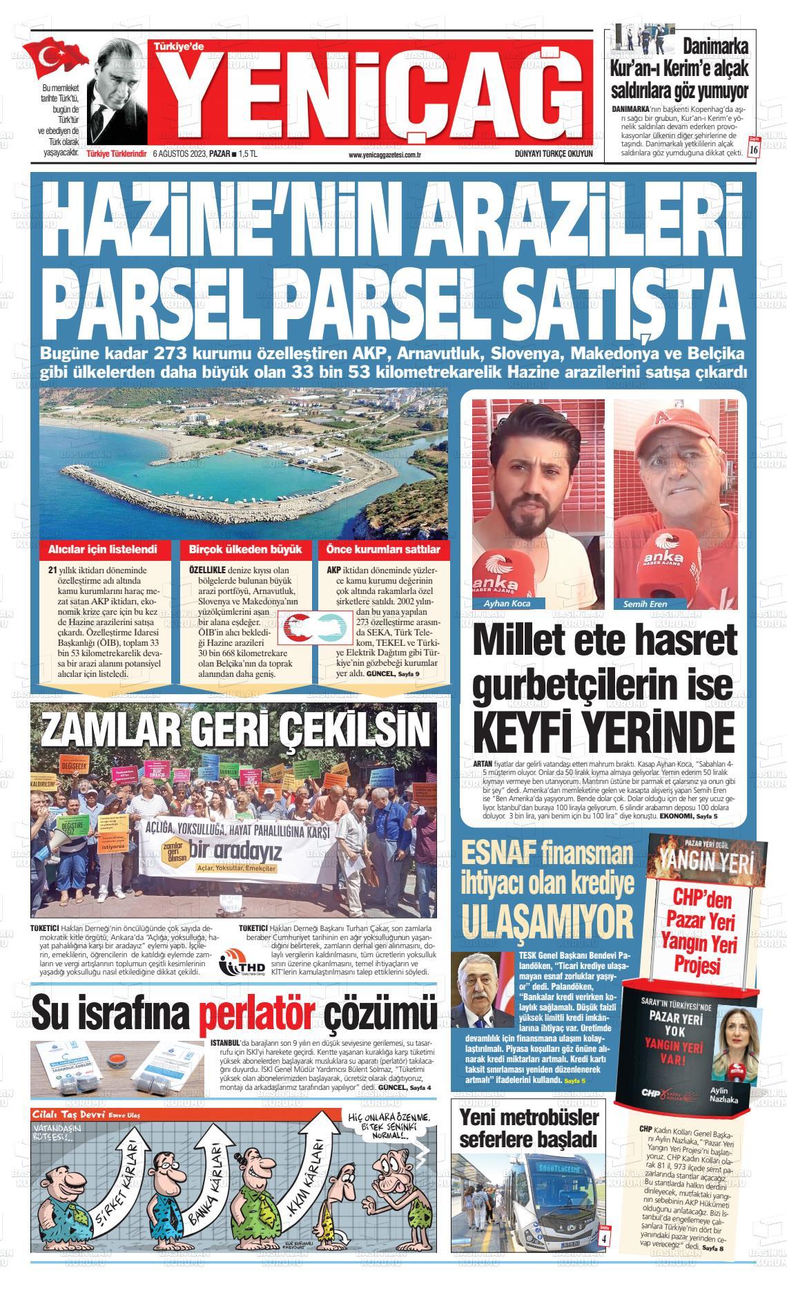 yenicag Gazetesi