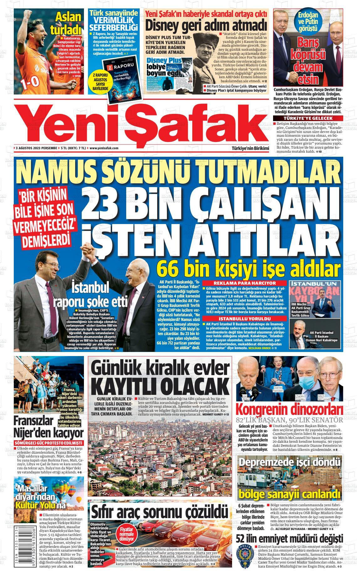 yenisafak Gazetesi