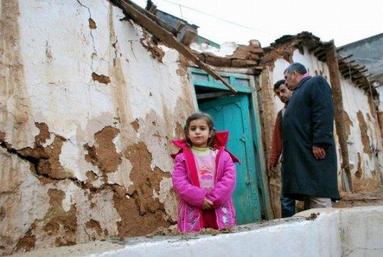 Aşırı Yağışlardan Dolayı 1 Ev Çöktü - Şanlıurfa