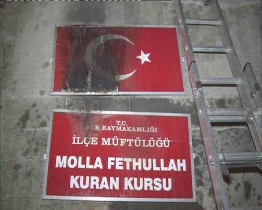 Diyarbakır'da Kur'an Kursuna Molotoflu Saldırı - Diyarbakır