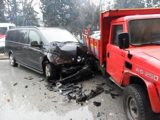 Sakarya'da Trafik Kazası: 1 Yaralı - Sakarya