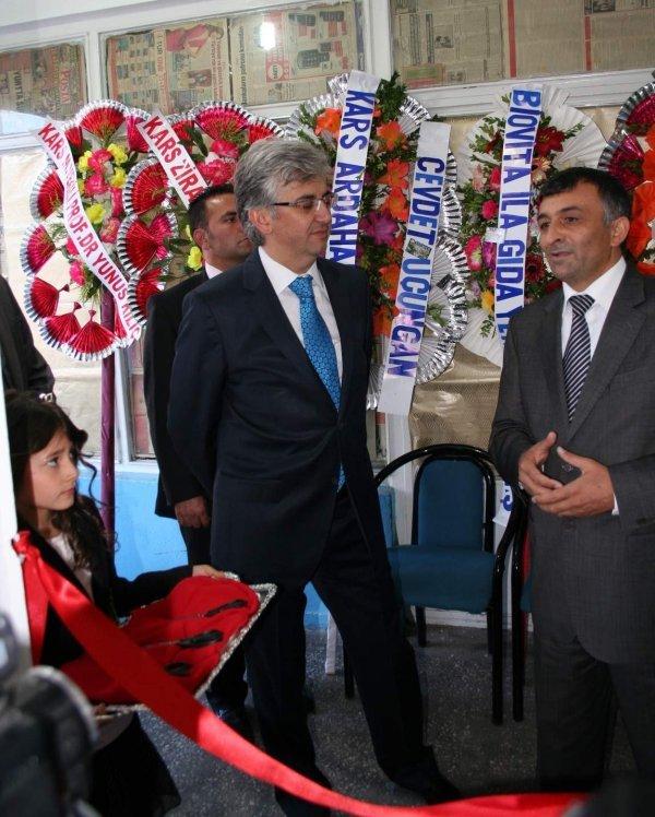 Vho'nun Açılışını Kars Valisi Eyüp Tepe Yaptı