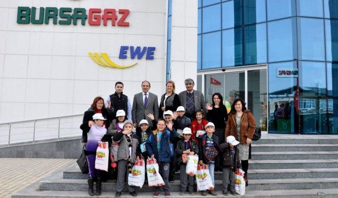 Özel Çocuklardan Bursagaz'a Teşekkür Ziyareti