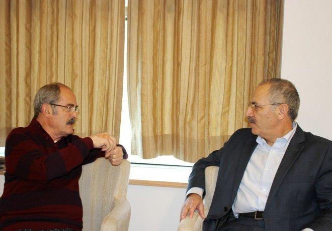 Nurgül Yeşilçay Hocası Büyükerşen'i Ziyaret Etti