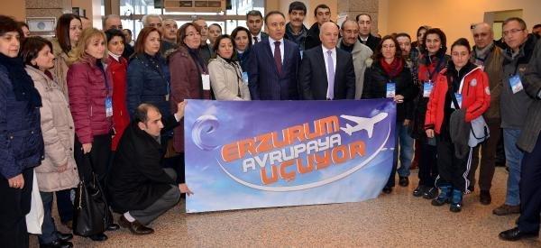 Erzurum'da Avrupa Görmeyen Öğretmen Kalmayacak